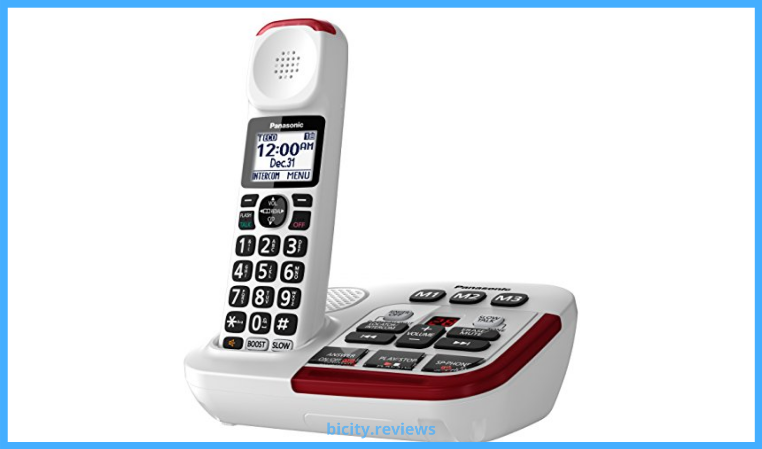 Cordless Phone with Answering Machine for Seniors