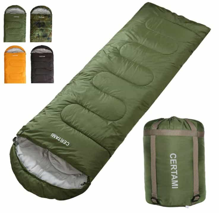 Best Cold Weather Rectangular Sleeping Bag