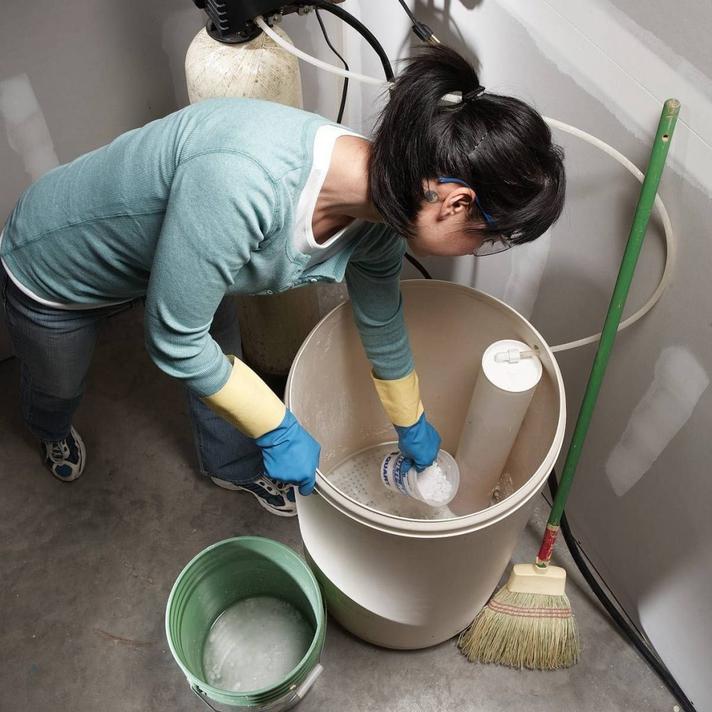 How to Clean Water Softener Resin Tank